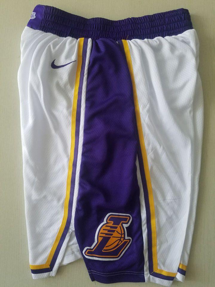 2019-20 Los Angeles Lakers Association Swingman White