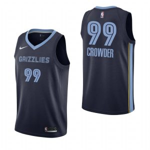 2019-20 Memphis Grizzlies Jae Crowder #99 Navy Icon Edition