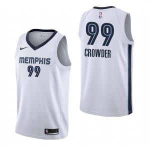 2019-20 Memphis Grizzlies Jae Crowder #99 White Association Swingman