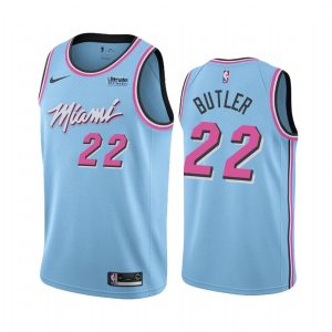 2019-20 Miami Heat Jimmy Butler #22 Blue Vice Night City Edition