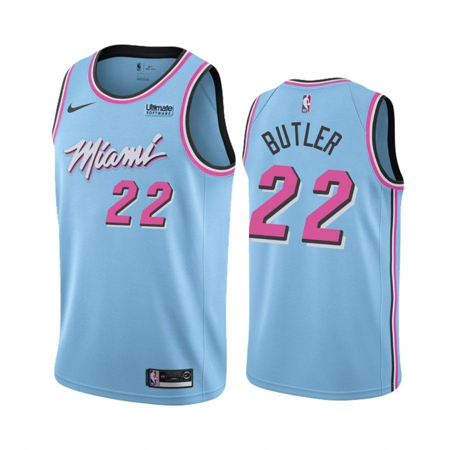 2019-20 Miami Heat Jimmy Butler #21 Blue Vice Night City Edition