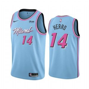 2019-20 Miami Heat Tyler Herro #14 Blue Vice Night City Edition