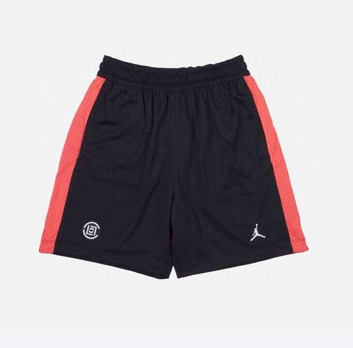 2019 CLOT x Jordan Black Shorts