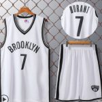 Бруклин Нетс белая с нанесением номера-1