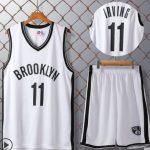 Бруклин Нетс белая с нанесением номера-2