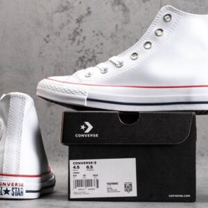 Chuck Taylor All Star Leather Hi White