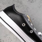 Chuck Taylor All Star Leather Ox Black-11