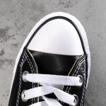 Chuck Taylor All Star Leather Ox Black-12
