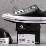 Chuck Taylor All Star Leather Ox Black-14