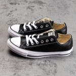 Chuck Taylor All Star Leather Ox Black-3