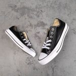Chuck Taylor All Star Leather Ox Black-8