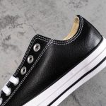 Chuck Taylor All Star Leather Ox Black-9