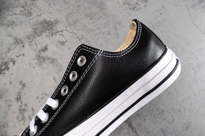 Chuck Taylor All Star Leather Ox Black