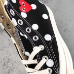 Converse Chuck Taylor All-Star 70s Hi Comme des Garcons PLAY Polka Dot Black-10