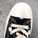 Converse Chuck Taylor All-Star 70s Hi Comme des Garcons PLAY Polka Dot Black-12