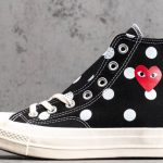 Converse Chuck Taylor All-Star 70s Hi Comme des Garcons PLAY Polka Dot Black-2