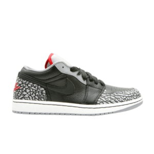 Jordan 1 Phat Low Black Cement