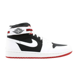 Jordan 1 Retro High Strap White Black Varsity Red