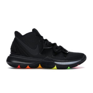 Kyrie 5 Black Rainbow Soles