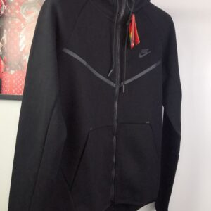 Nike Tech Fleece Jacket Black