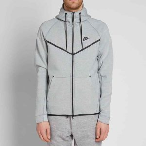 Nike Tech Fleece Jacket Grey