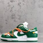 OFF-WHITE x Dunk Low Pine Green-1