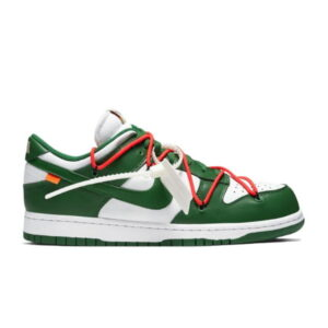 OFF-WHITE x Dunk Low Pine Green