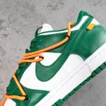 OFF-WHITE x Dunk Low Pine Green-9