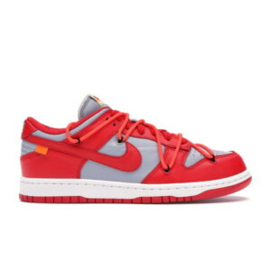 OFF-WHITE x Dunk Low University Red