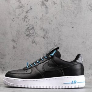Wmns Air Force 1 '07 Lux Black Reflective