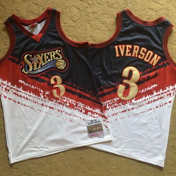 1997-98 Allen Iverson Philadelphia 76ers Independence