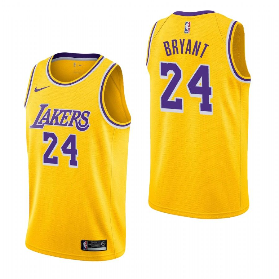 2018-19 Kobe Bryant Los Angeles Lakers #24 Icon Edition Gold