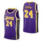 2018-19 Kobe Bryant Los Angeles Lakers #24 Statement Purple