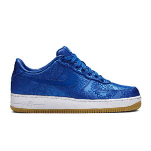 CLOT x Air Force 1 PRM Royal Silk