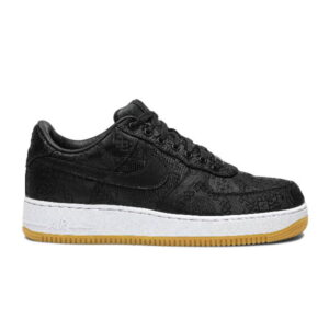 Fragment Design x CLOT x Air Force 1 Black Silk