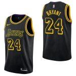 Los Angeles Lakers Kobe Bryant #24 City Black Retire