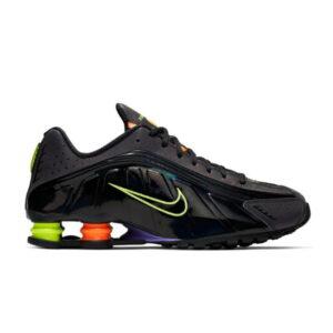 Nike Shox R4 Gel Black Neon