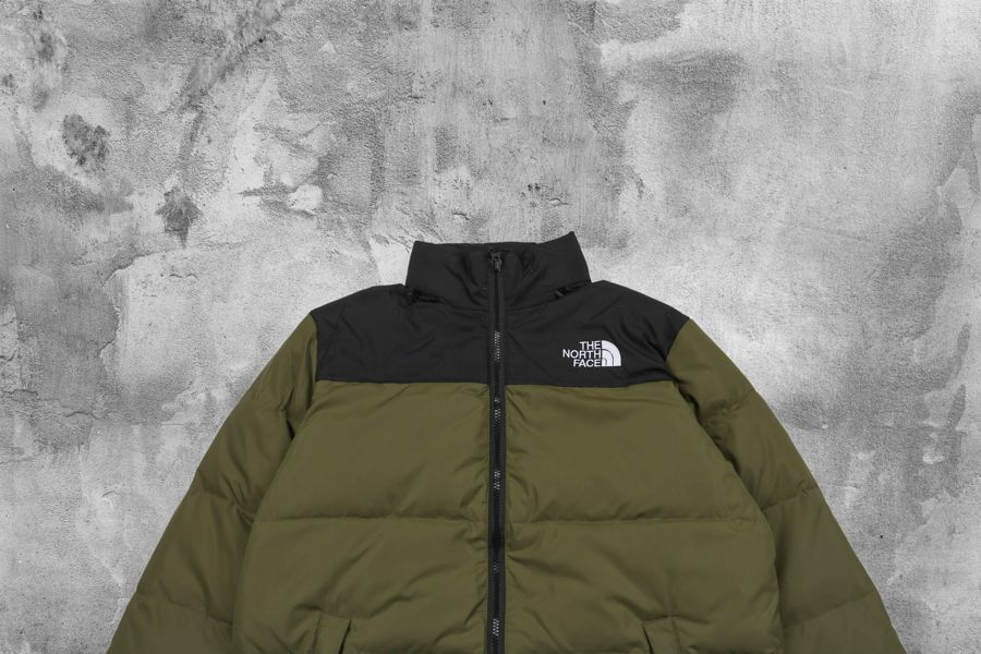The North Face 1996 Retro Nuptse Tumbleweed Green
