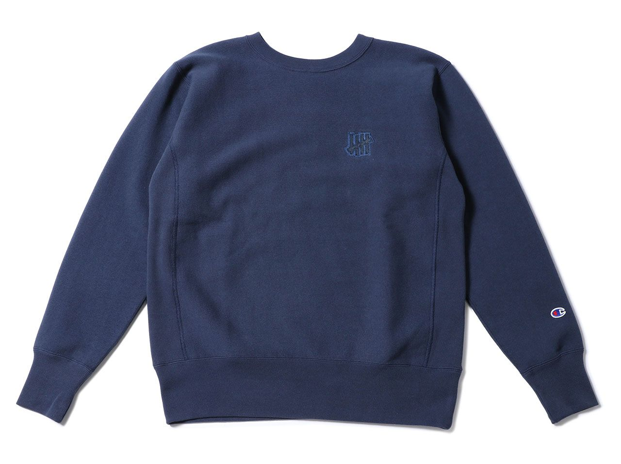 UNDEFEATED x CHAMPION 5 STRIKE RW CREW SWEAT