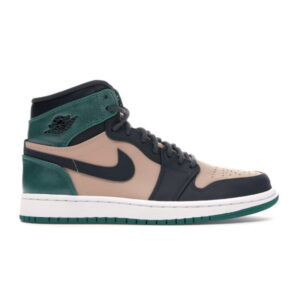 Wmns Air Jordan 1 High Premium Mystic Green