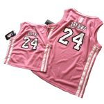 adidas Kobe Bryant 24 Lakers Pink Jersey-1