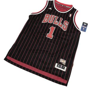 1995-96 adidas Derrick Rose 1 Bulls Hardwood Classic Youth Black