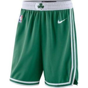 2018-19 Boston Celtics Swingman NBA City Edition Shorts Green