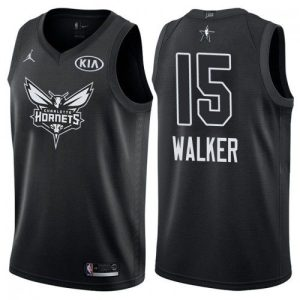 2018 All-Star Charlotte Hornets Kemba Walker #15 Black Swingman Jersey