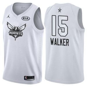 2018 All-Star Charlotte Hornets Kemba Walker #15 White Swingman Jersey
