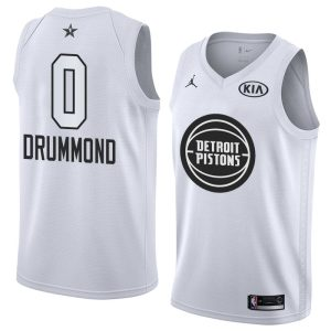 2018 All-Star Detroit Pistons Andre Drummond #0 White Swingman Jersey