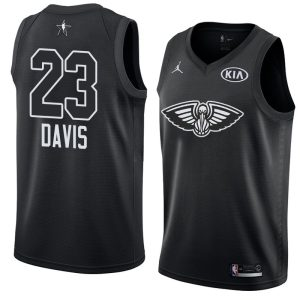 2018 All-Star Pelicans Anthony Davis #23 Black Swingman Jersey