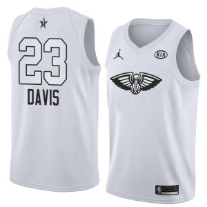 2018 All-Star Pelicans Anthony Davis #23 White Swingman Jersey