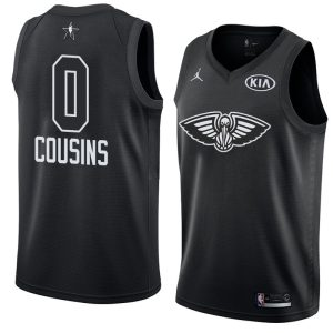 2018 All-Star Pelicans DeMarcus Cousins #0 Black Swingman Jersey