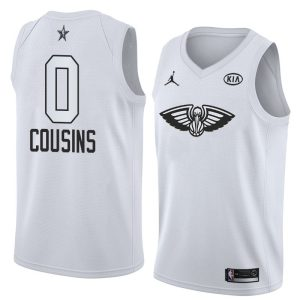 2018 All-Star Pelicans DeMarcus Cousins #0 White Swingman Jersey